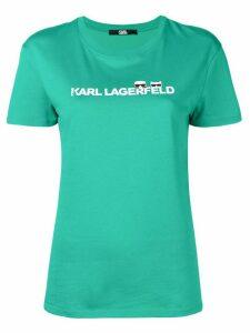 Karl Lagerfeld Ikonik logo T-shirt - Green