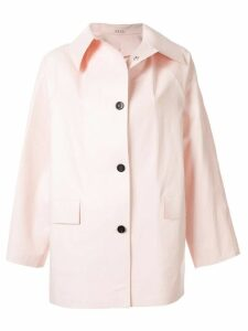 Kassl Editions short trench coat - PINK