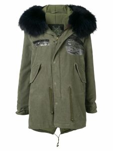 Mr & Mrs Italy mid-length parka coat - Green