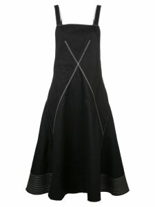 Proenza Schouler contrast topstitch dress - Black
