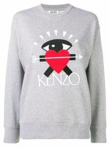 Kenzo I Love Kenzo capsule sweatshirt - Grey