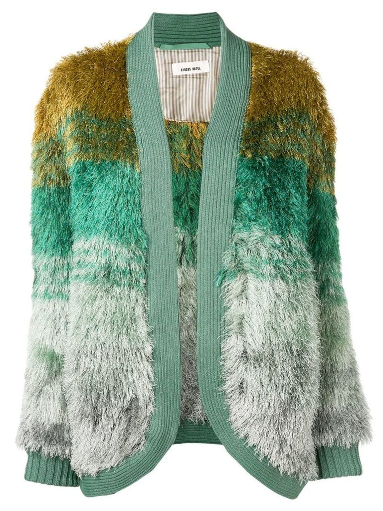Circus Hotel Forest Mint cardi-coat - Green
