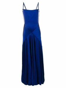 Maison Margiela blue evening dress