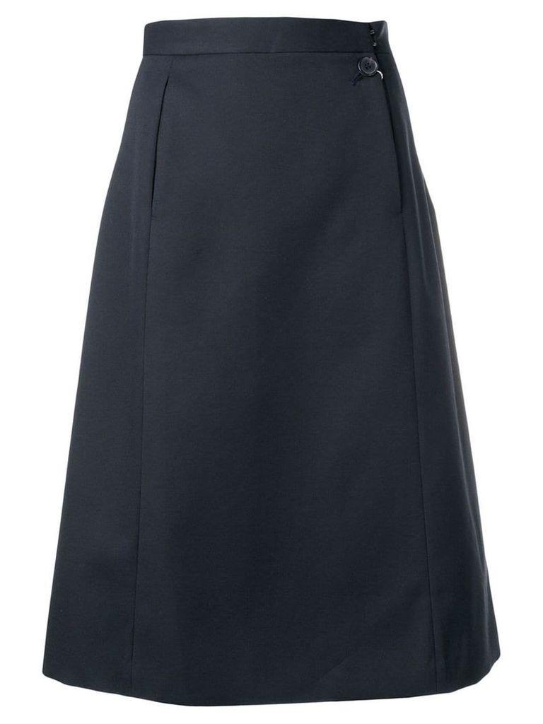 Maison Margiela open pocket midi skirt - Black