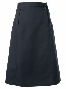 Maison Margiela open pocket midi skirt - Black