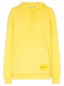 Calvin Klein Jeans Est. 1978 super size graphic hoodie - Yellow