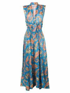 Philosophy Di Lorenzo Serafini paisley print dress - Blue