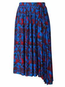 Kenzo phoenix print skirt - Blue
