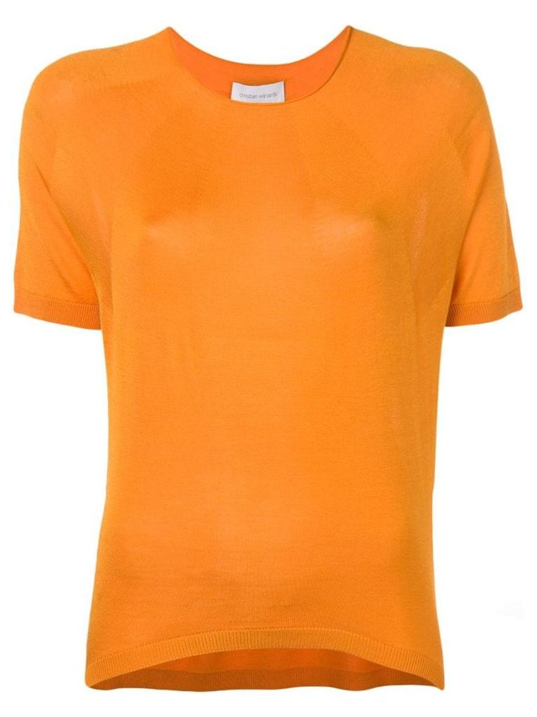 Christian Wijnants relaxed fit T-shirt - Orange