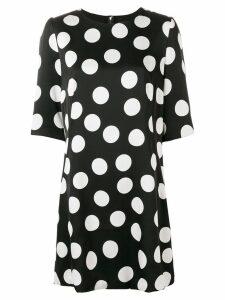 Dolce & Gabbana polka-dot shirt dress - Black
