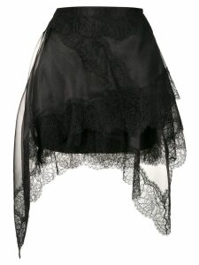 Ermanno Scervino black lace skirt