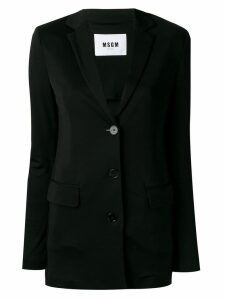 MSGM smart blazer - Black