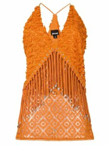 Just Cavalli fringe top - Orange