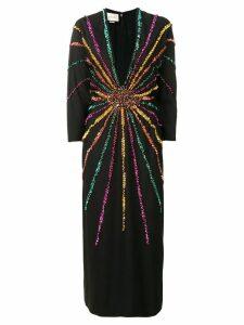 Gucci sequin embellished dress - Black