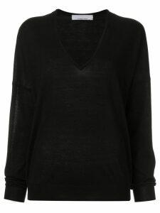 Jean Paul Knott V-neck sweatshirt - Black