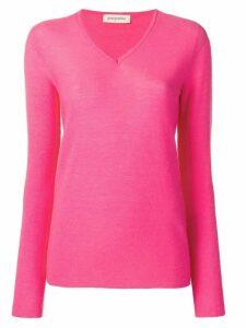 Gentry Portofino V-neck sweater - Pink