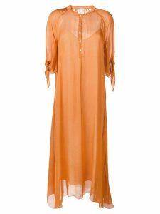 Forte Forte shirt dress - Orange