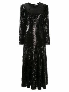 Racil sequin asymmetric dress - Black