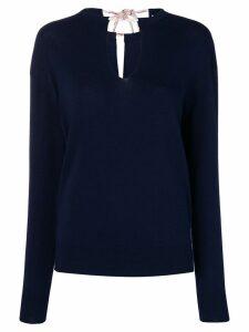 Chloé Iconic navy sweater - Blue
