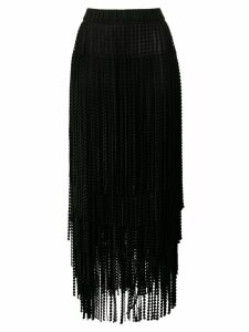 Marco De Vincenzo chandelier skirt - Black