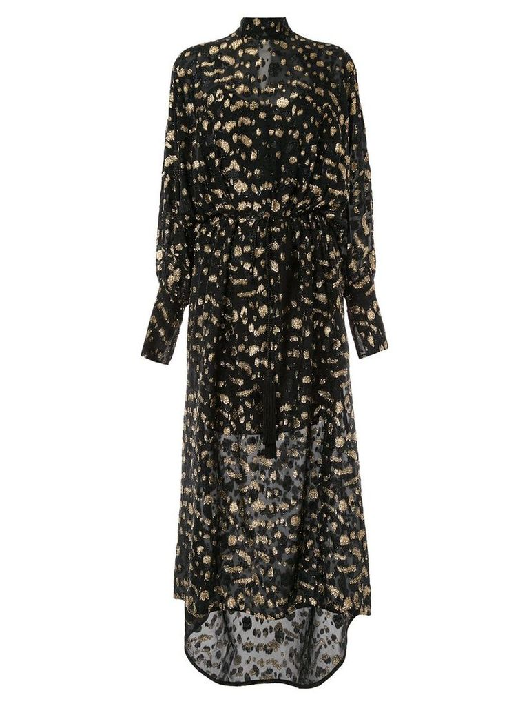 Petar Petrov Rana lurex dress - Black