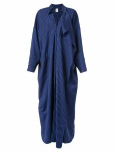 Maison Rabih Kayrouz striped shirt dress - Blue