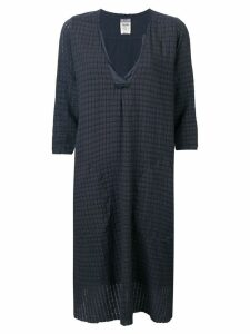 Kristensen Du Nord checked tunic dress - Grey
