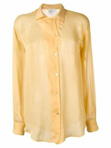 Forte Forte button shirt - Yellow