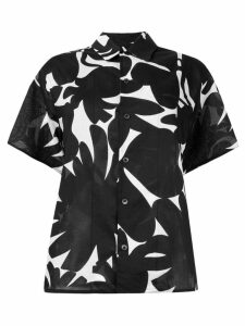Marni printed boxy shirt - Black