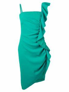 Pinko ruffle dress - Green