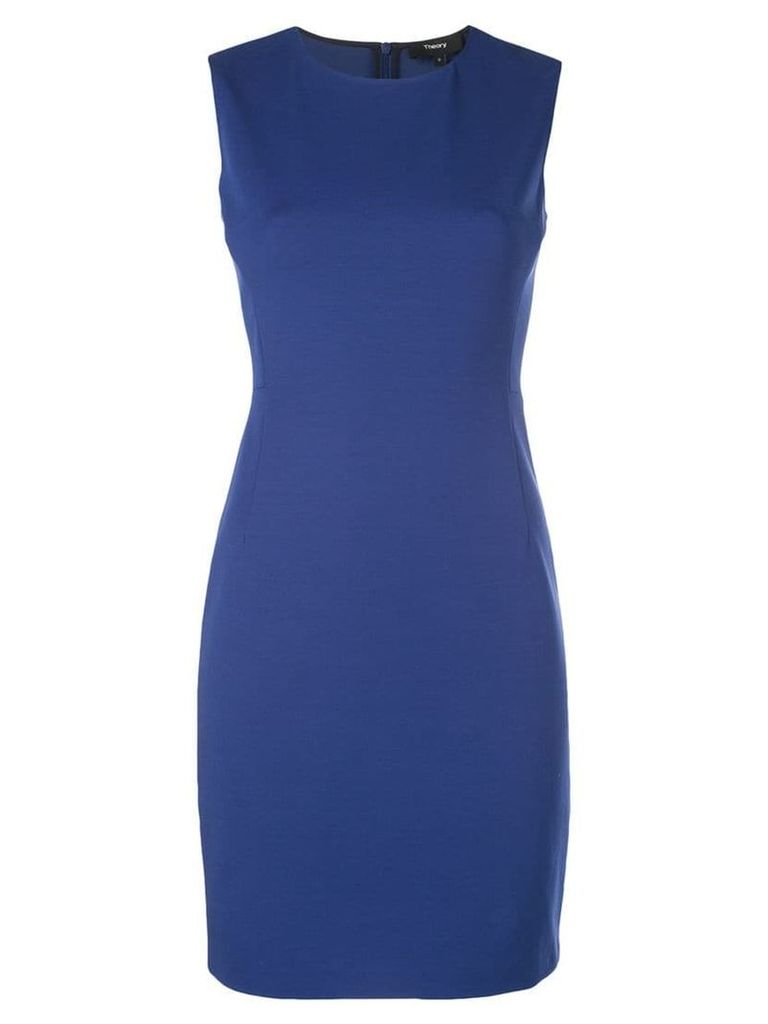 Theory classic formal dress - Blue