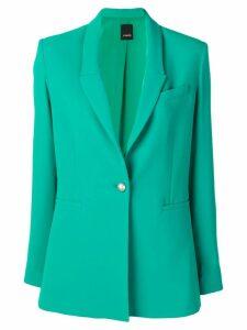 Pinko single breasted blazer - Green