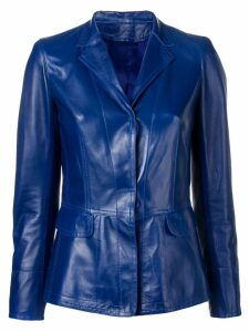 Sylvie Schimmel classic fitted blazer - Blue