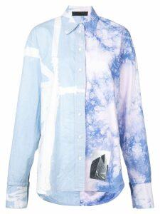 Proenza Schouler Tie Dye Shirt - Blue