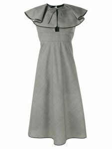 Rochas ruffled dress - Grey