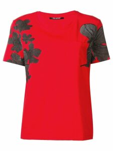 Neil Barrett floral T-shirt - Red