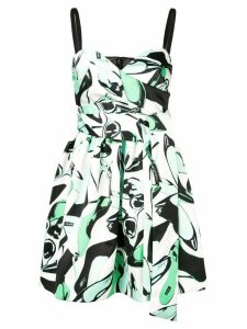 Pinko Arabesque print dress - Green