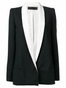 Haider Ackermann blazer with contrasting collar - Black