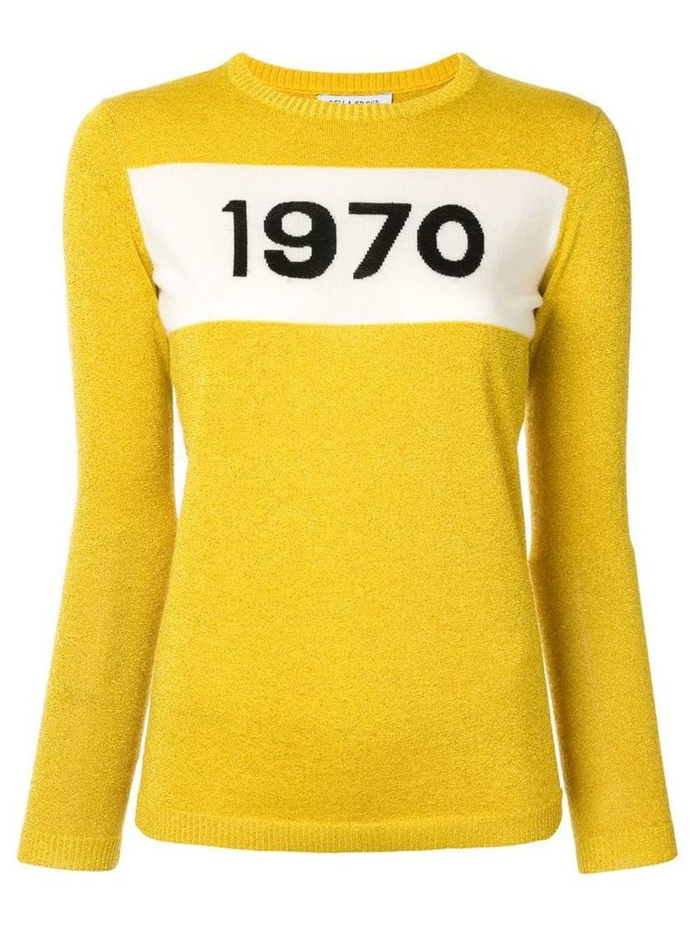 Bella Freud graphic jumper - Yellow