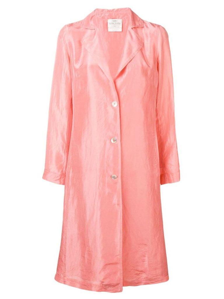 Forte Forte Pompelmo Rosa coat - Pink