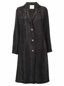Forte Forte brown silk coat