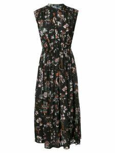 Markus Lupfer Isla Jurassic Garden print dress - Black