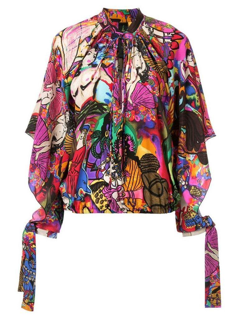 Romance Was Born Opal Goddess blouse - Multicolour