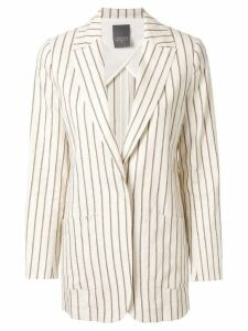 Lorena Antoniazzi striped blazer - White
