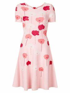 Carolina Herrera knitted floral dress - Pink