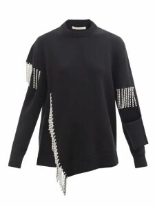 Summa - High Rise Pleated Wrap Midi Skirt - Womens - Light Gold