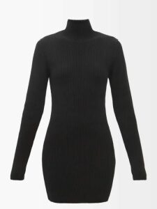 Staud - Lincoln Crocodile Effect Leather Box Bag - Womens - Red