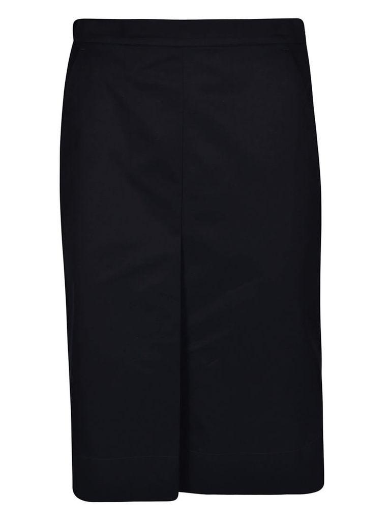 Jil Sander High Low Hem Skirt