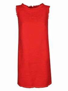 Ermanno Scervino Frayed Dress