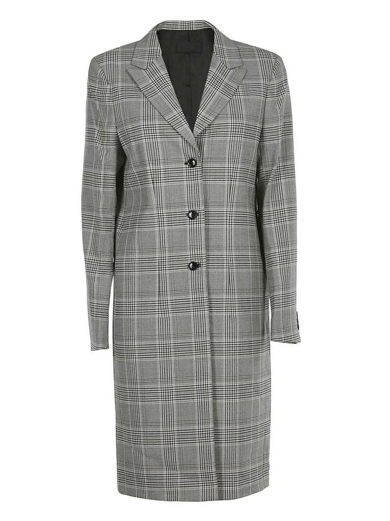 Rta Checked Coat